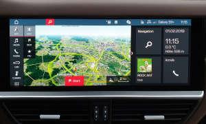 Porsche Cayenne E-Hybrid: Infotainment