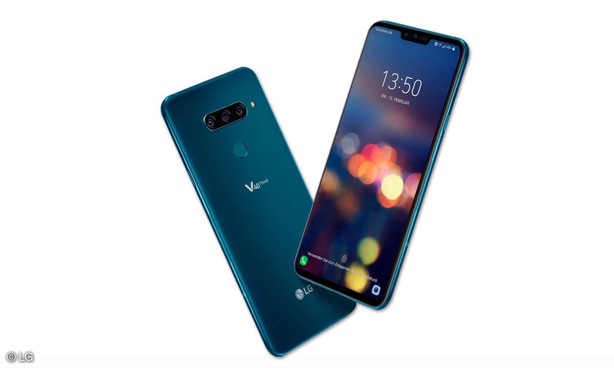 LG V40 ThinQ im Test
