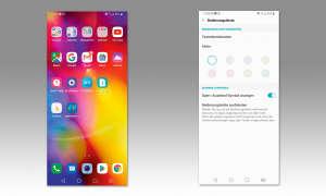 LG V40 ThinQ im Test - Ordner: Viele Extras