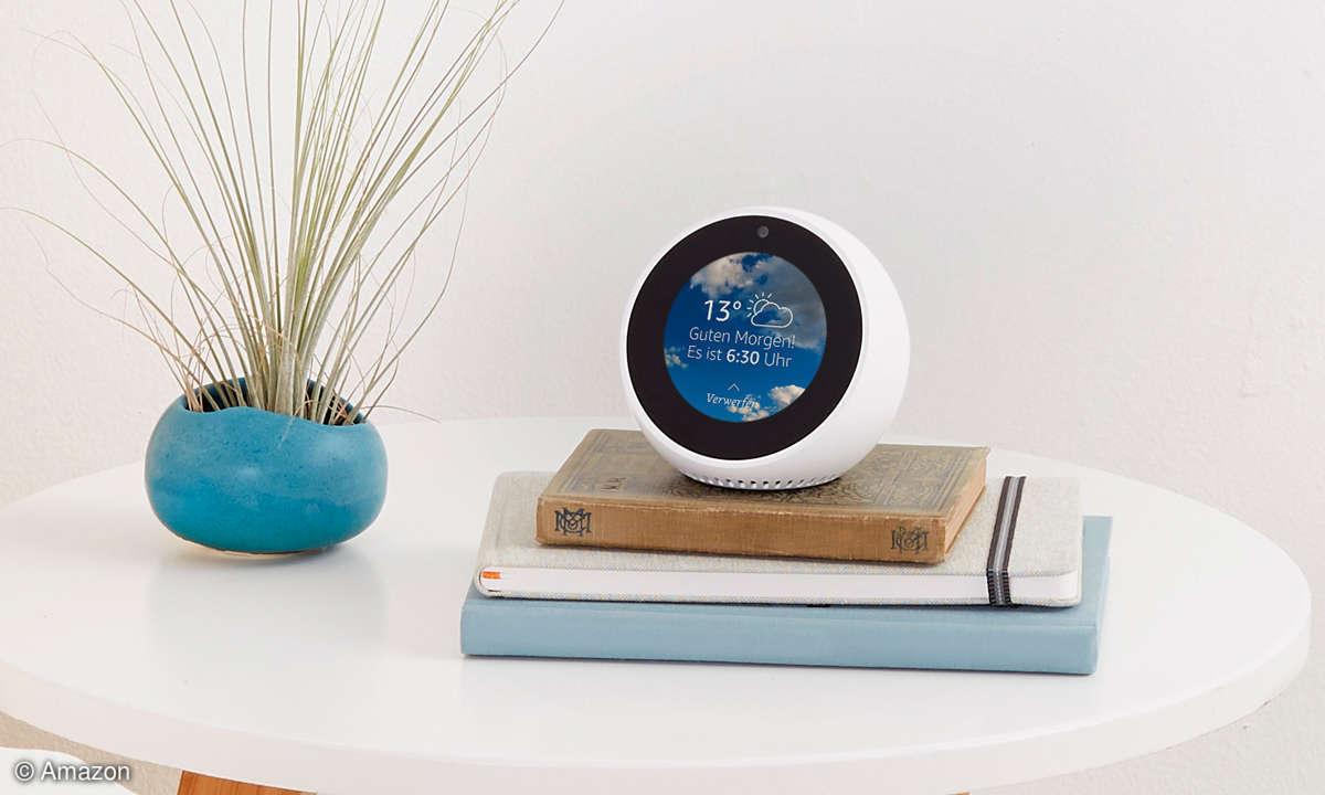 Smarte Speaker: Amazon Echo Spot