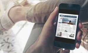 Lesen App Zeitung Zeitschrift