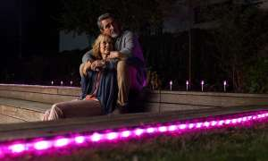 Smartes LED-Band für draußen
