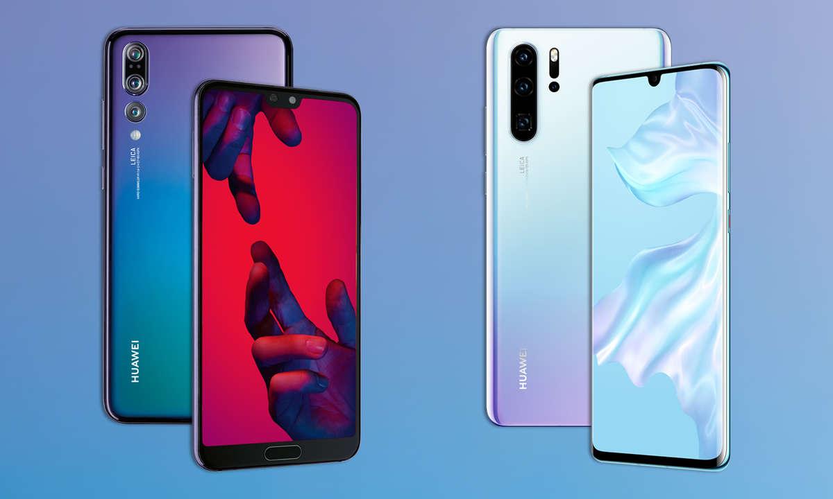 Huawei P20 Pro und Huawei P30 Pro