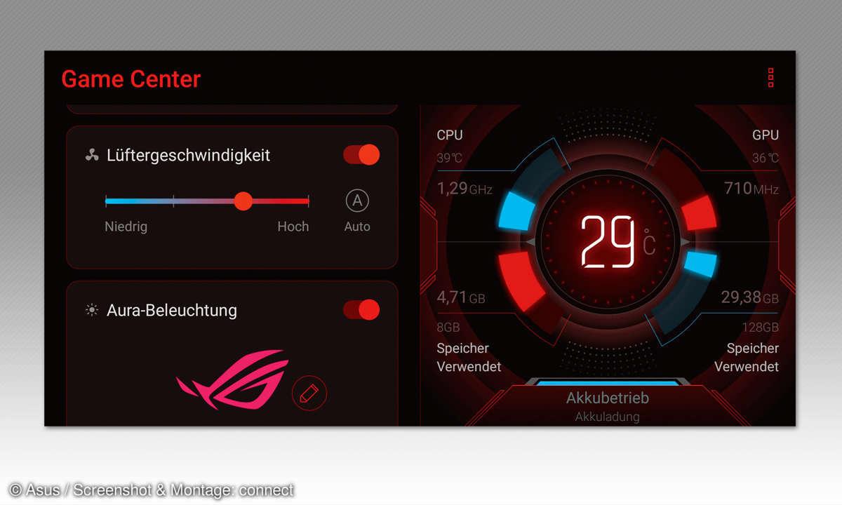 Asus ROG Phone im Test - Gamecenter