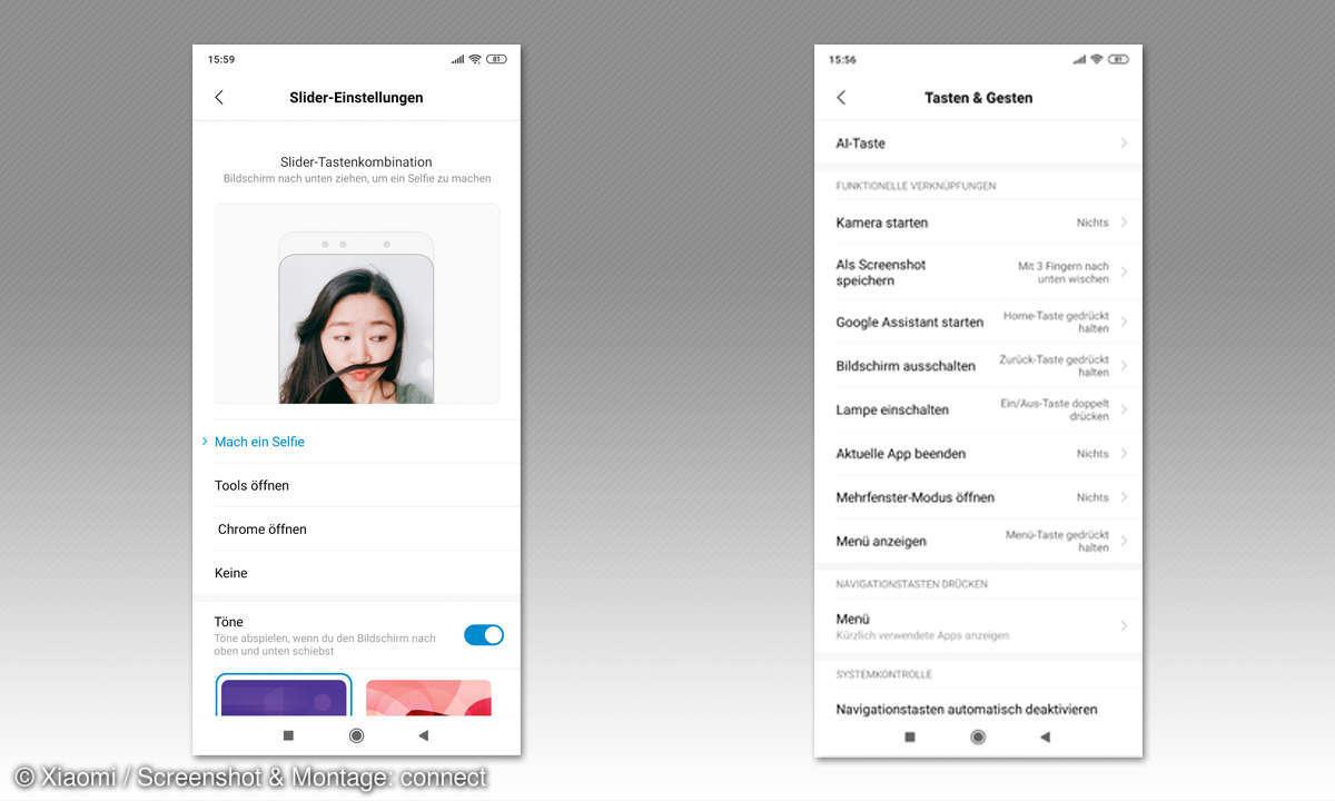 Xiaomi Mi Mix 3 im Test - Screenshots