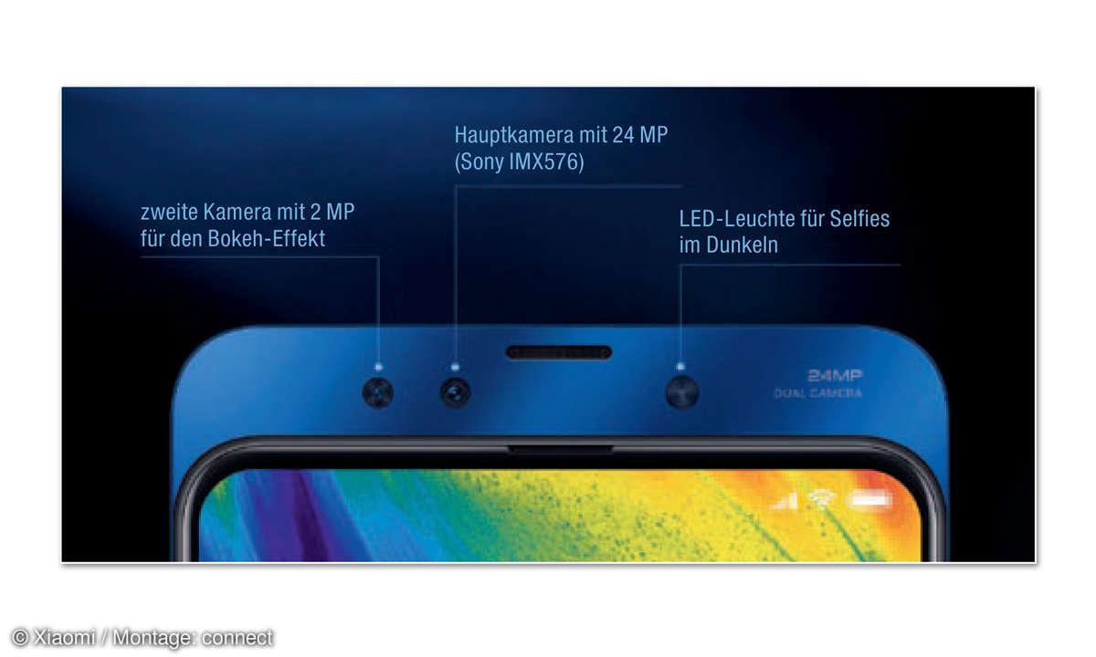 Xiaomi Mi Mix 3 im Test - Kamera Vorderseite