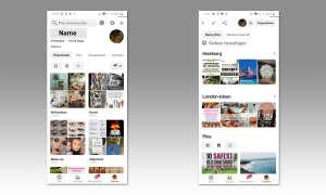 Pinterest - Pinn erstellen & Ordner