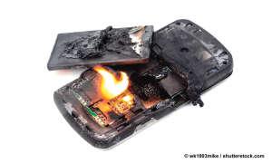 Die 6 schlimmsten Handy-Sünden und so schützen Sie es - Handy verbrennt