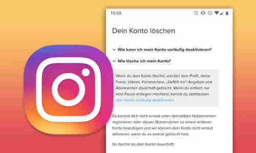 Facebook account deaktivieren und wieder aktivieren