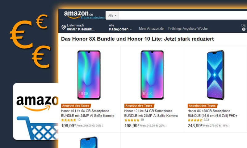 Honor 8X, Xperia XZ2 Compact und Co: Amazon-Deals im Check - connect