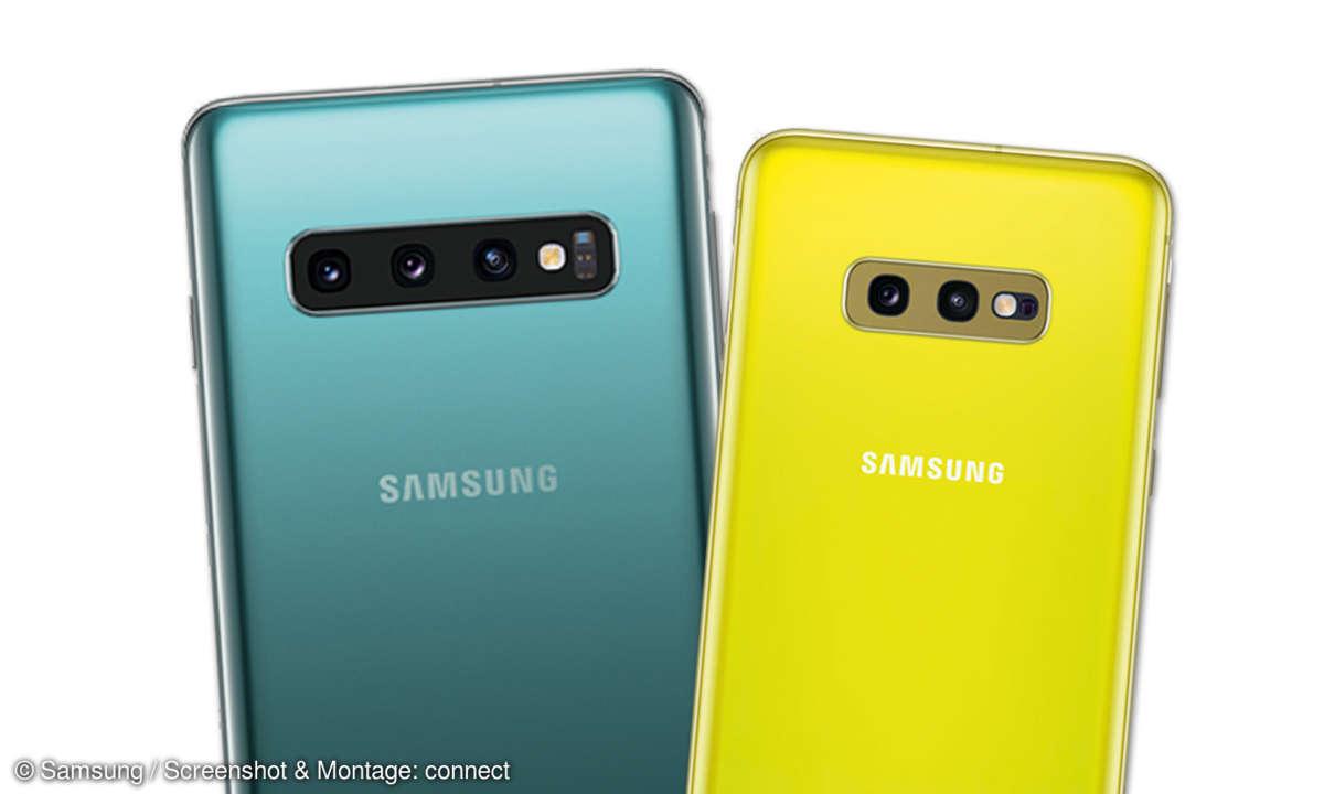 Samsung Galaxy S10 & S10e im Test - Kameras