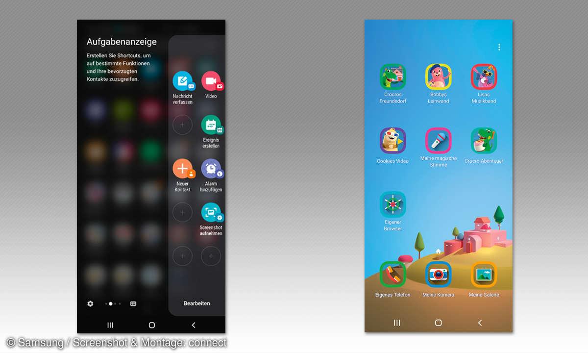 Samsung Galaxy S10 & S10e im Test - Screenshots