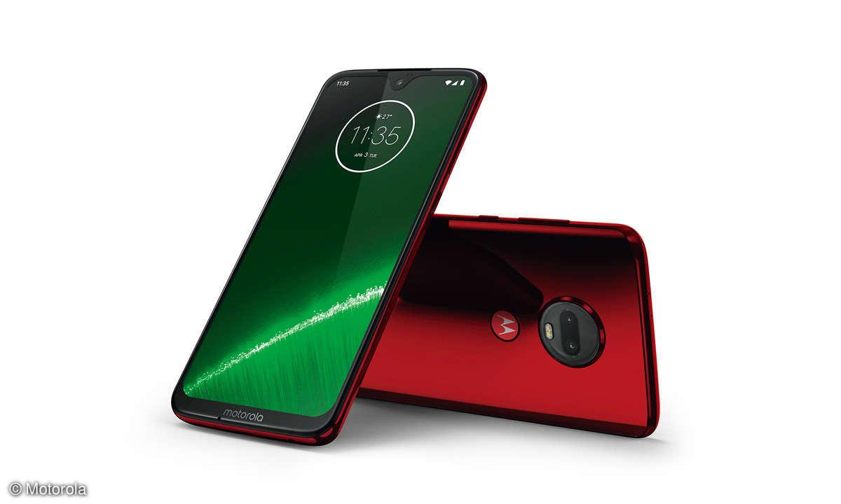 Motorola Moto G7 und G7 Plus im Vergleichs-Test
