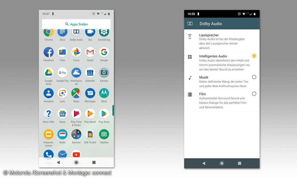 Motorola Moto G7 und G7 Plus im Vergleichs-Test - Screenshots