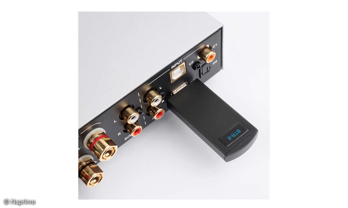 Nuprime IDA-8 im Test - Bluetooth-USB-Dongle