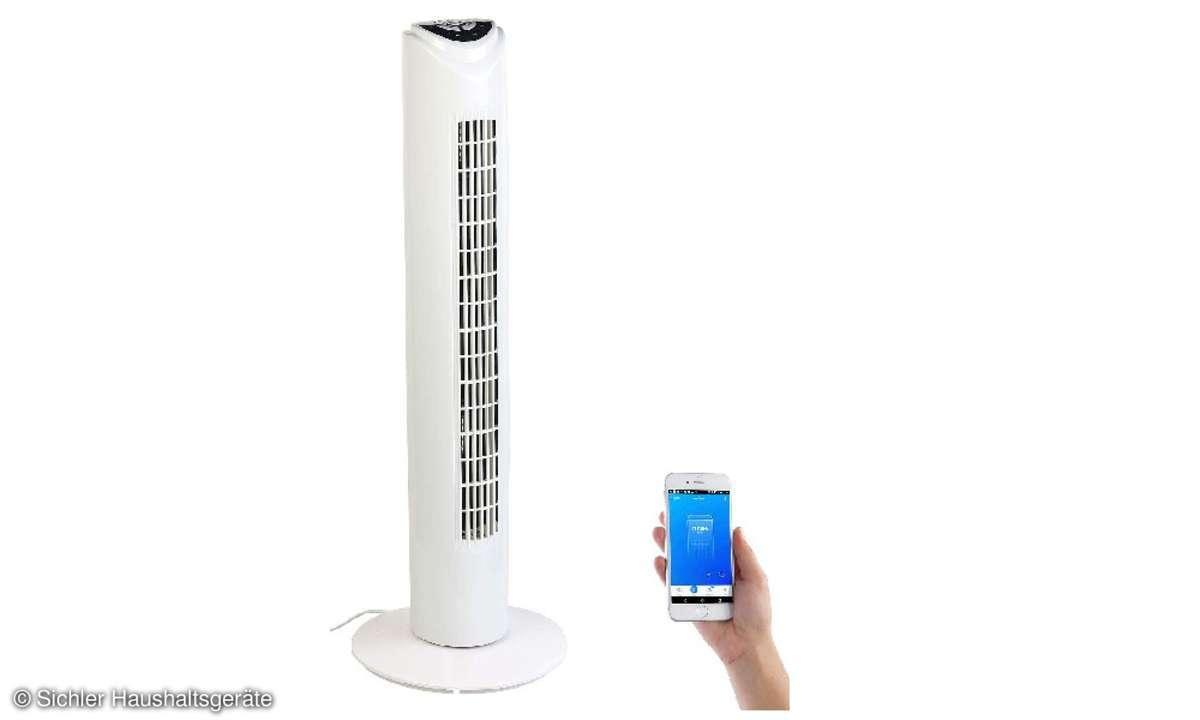 WLAN Ventilator mit Alexa und Google Assistant