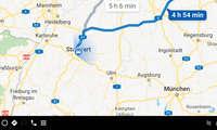 Google Android Automotive - Google Maps