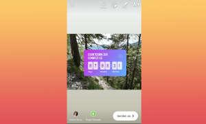 Instagram Stories Countdown Sticker