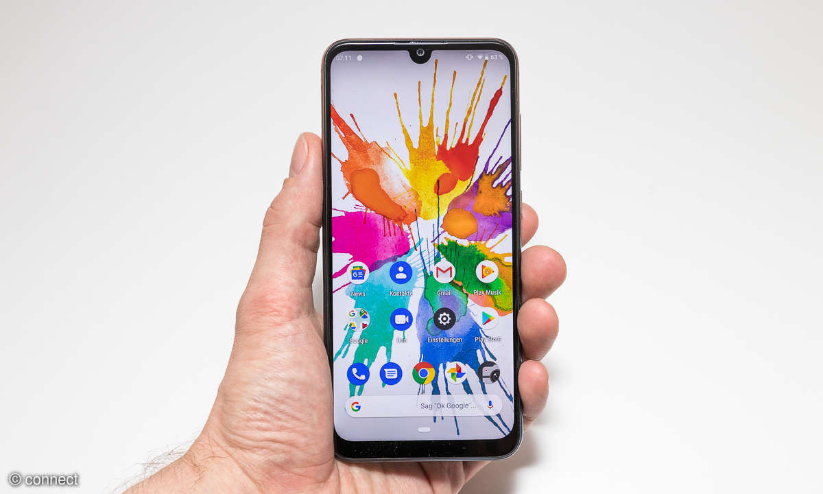 Wiko View 3 Pro Front