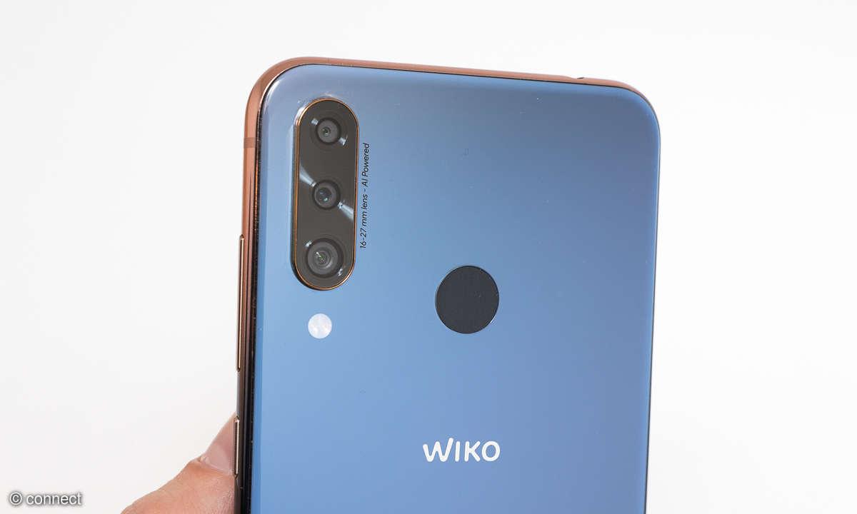 Wiko View 3 Pro Triple-Kamera