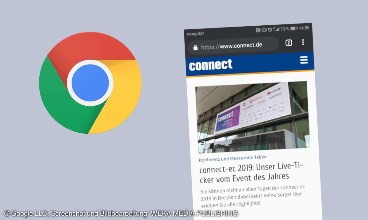 Chrome Dark Mode in Android aktivieren