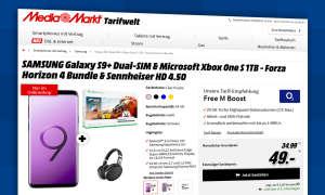 mediamarkt deal galaxy s9 bundle
