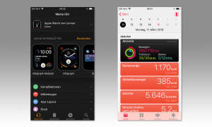 Apple Watch Series 4 - App Screenshots