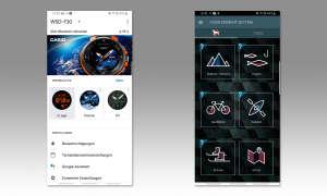 Casio Pro Trek WSD-F30 - App Screenshots