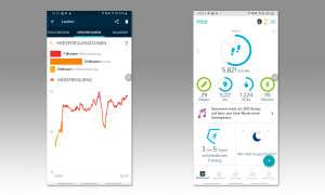 Fitbit Ionic - App Screenshots