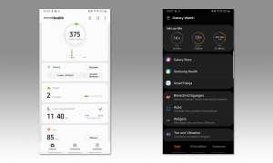 Samsung Galaxy Watch - App Screenshots