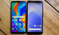 Pixel 3a XL im Vergleich mit dem Huawei P30 Lite