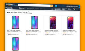 honor smartphones angebot amazon mai 2019