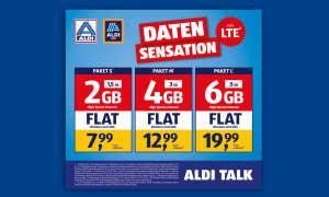Aldi Talk Mehr Datenvolumen Mai 2019