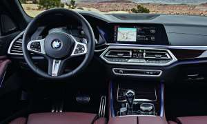 BMW X5: Touchscreen