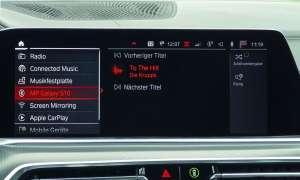 BMW X5 Screenshot Infotainment