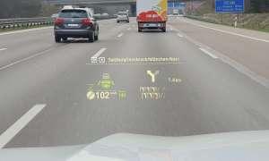 BMW X5: Navigation Head-Up-Display