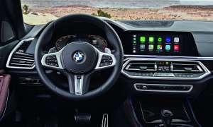 BMW X5: Connectivity Apple Carplay