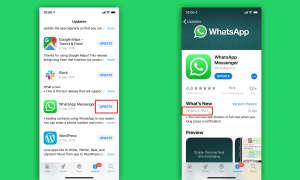 Whatsapp update ios version
