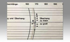 Tonabnehmer richtig einbauen - Überhang