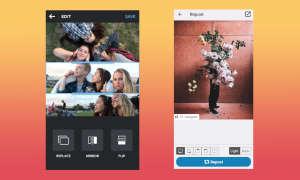 Apps für Instagram - Layout und Repost