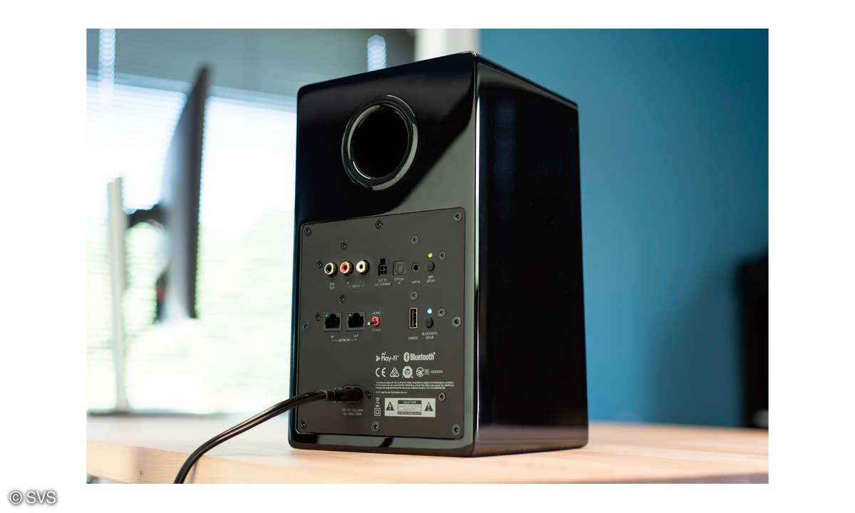 SVS Prime Wireless Speaker System - Rückseite