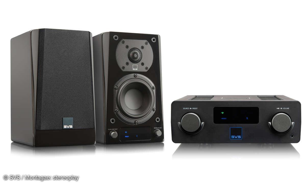 SVS Prime Wireless Speaker System & Sound Base  im Test