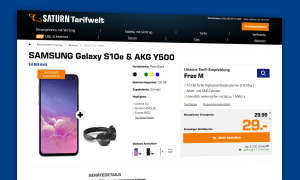 samsung galaxy s10e handyvertrag saturn
