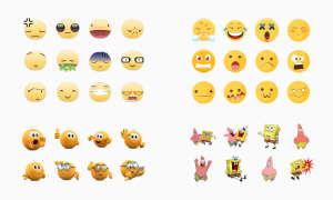Emoji-Aufkleber für WhatsApp
