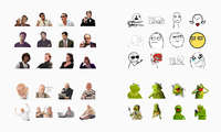 Meme stickers