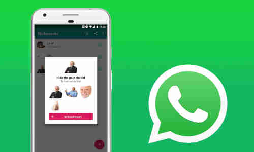 Whatsapp Sticker Erstellen Packs Hinzufügen So Gehts