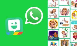 WhatsApp Bitmoji verwenden
