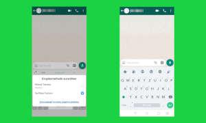 WhatsApp Bitmoji Screenshot