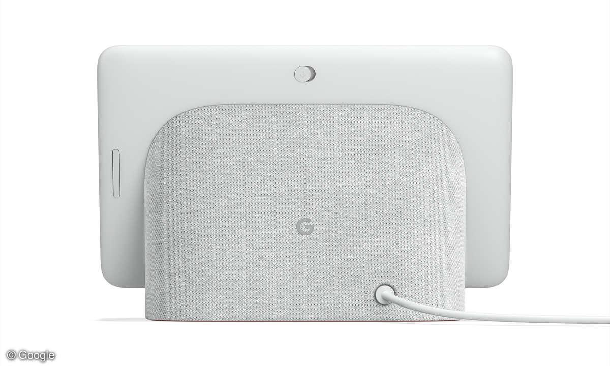 Google Nest Hub Rückseite hinten