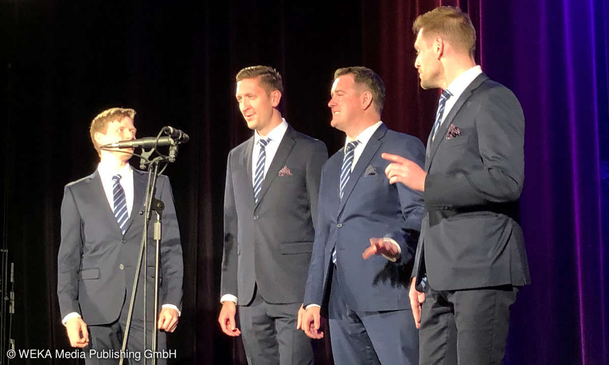 Ringmasters bei High End in Concert